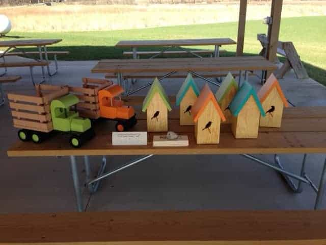 Plant_Swap_May_2014-Toys_and_birdhouses-Christine_Molling