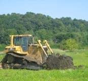 Aug 2008 --constructing the duck scrape pond
